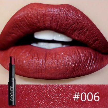 Cocute Lip Stick Moisturizer Lipsticks Waterproof Long-lasting Easy to Wear Cosmetic Nude Makeup Lips