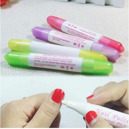 Nail Art Corrector Remover Pen
