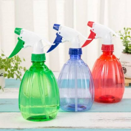 Plastic Water Spray Bottle Multi Design