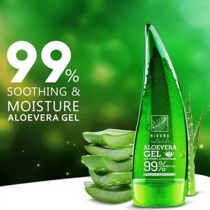 99% Aloe Vera Gel Bottle – 120 ML