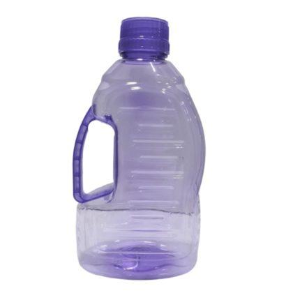 Pack Of 2 Fridge Water Bottles With Good Plastic 1 Liter