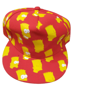 Red And Yellow Color Stylish Cap